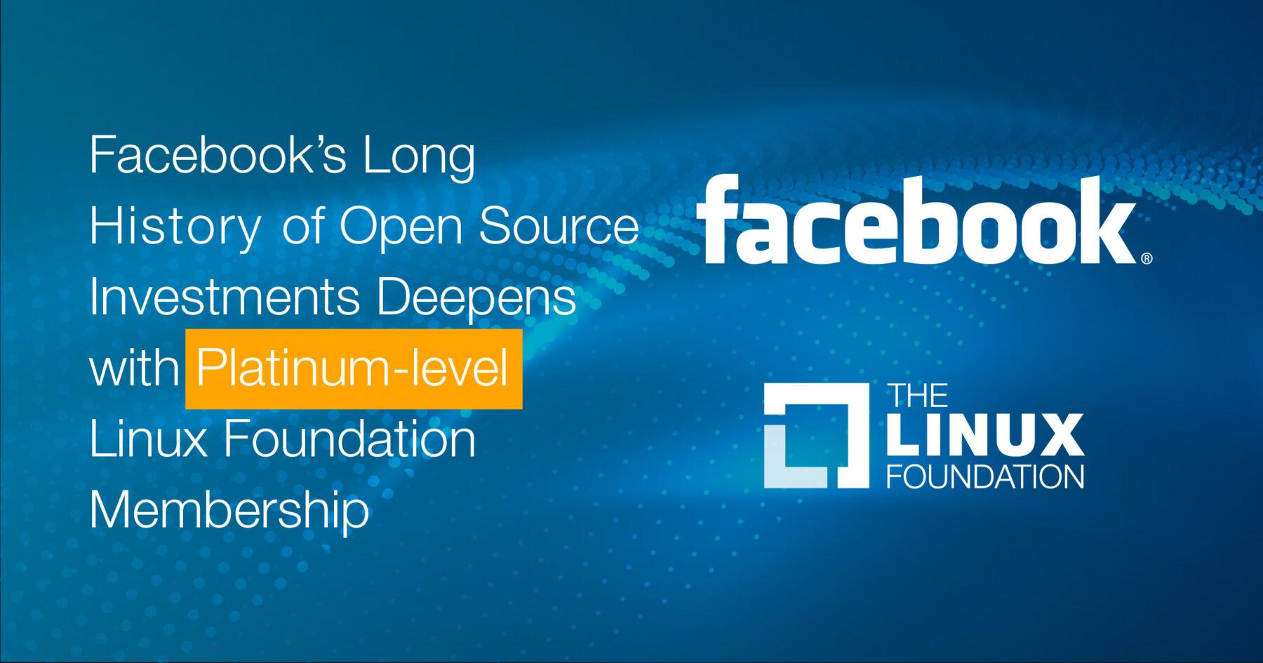 Facebook Becomes Platinum Member