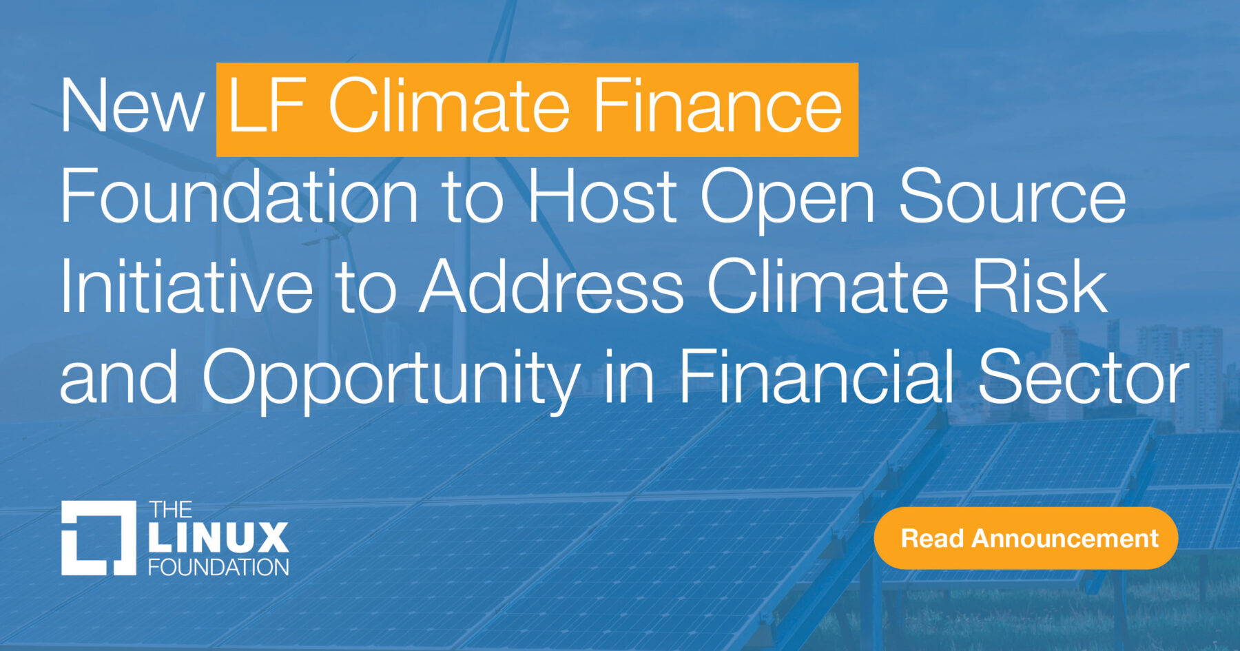 LF Climate Finance Foundation Announced